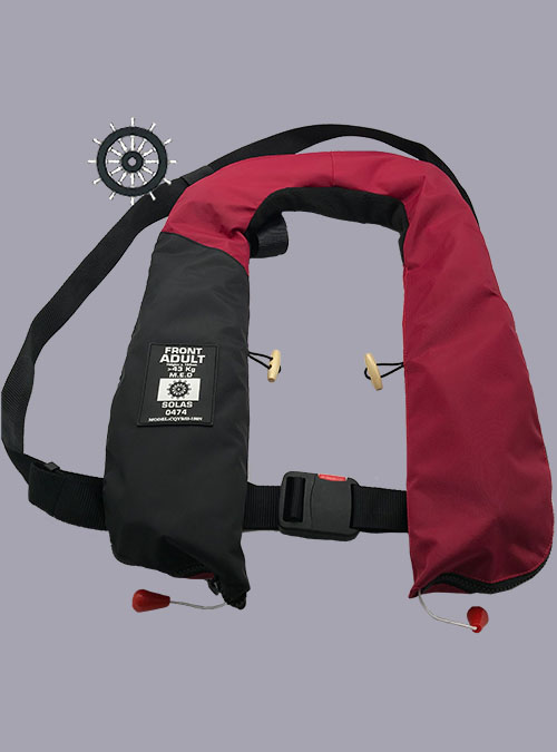 150N SOLAS Inflatable Lifejacket-Zenkecn
