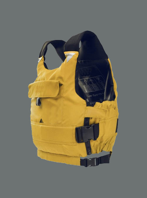 Life Jacket for Canoeing-Yellow