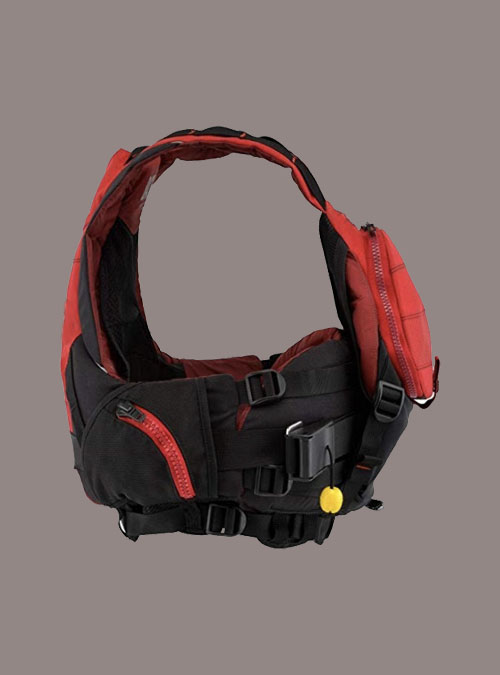 Whitewater Life Jacket-Red-2