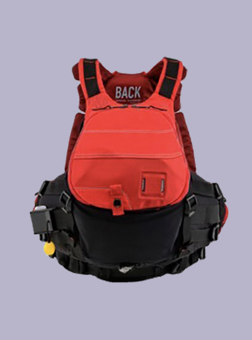Whitewater Life Jacket-Red